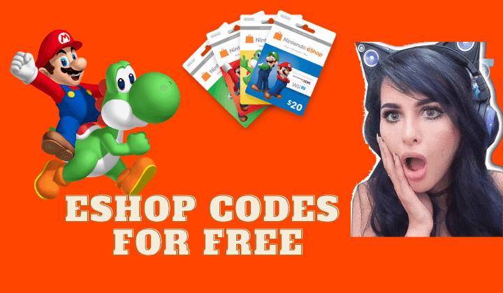 eShop codes for free